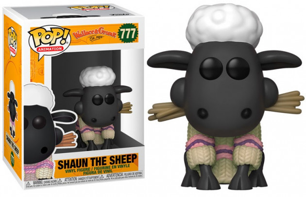 Figurka Wallace and Gromit - Shaun the Sheep (Funko POP! Animation 777)