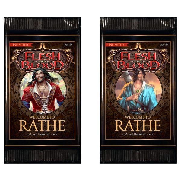 Karetní hra Flesh & Blood TCG: Welcome to Rathe - Unlimited Booster