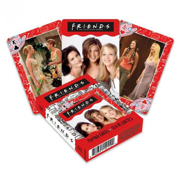 Hrací karty Friends - Girls