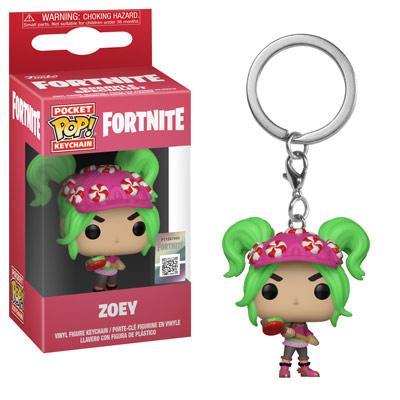 Klíčenka Fortnite - Zoey (Funko)