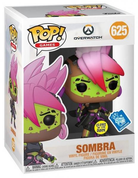 Figurka Overwatch - Los Muertos Sombra Glow in the Dark (Funko POP! Games 625)