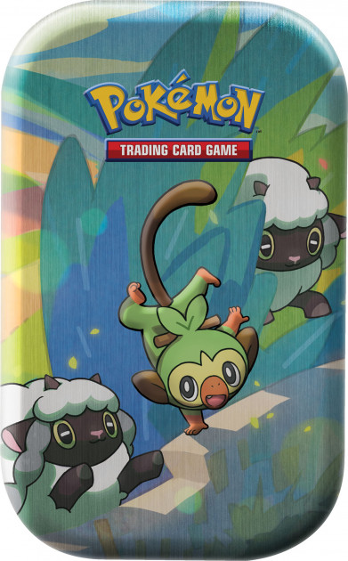 Karetní hra Pokémon TCG - Galar Pal Mini Tin: Grookey and Wooloo