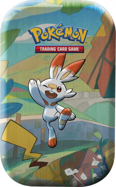 Karetní hra Pokémon TCG - Galar Pal Mini Tin: Scorbunny and Pikachu