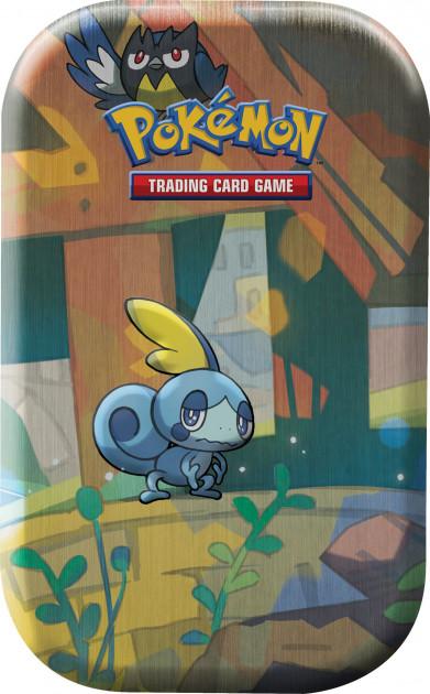 Karetní hra Pokémon TCG - Galar Pal Mini Tin: Sobble and Rookidee