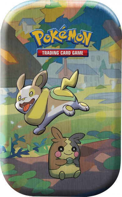 Karetní hra Pokémon TCG - Galar Pal Mini Tin: Yamper and Morpeko