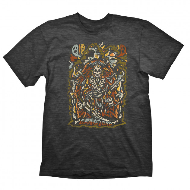 Tričko Dark Souls - Gravelord (velikost L)