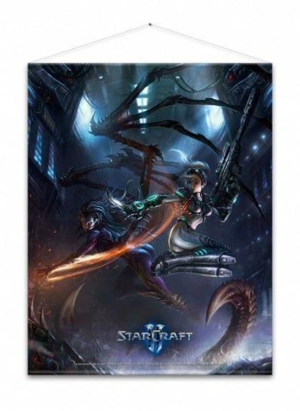 Wallscroll Starcraft II - Kerrigan and Nova