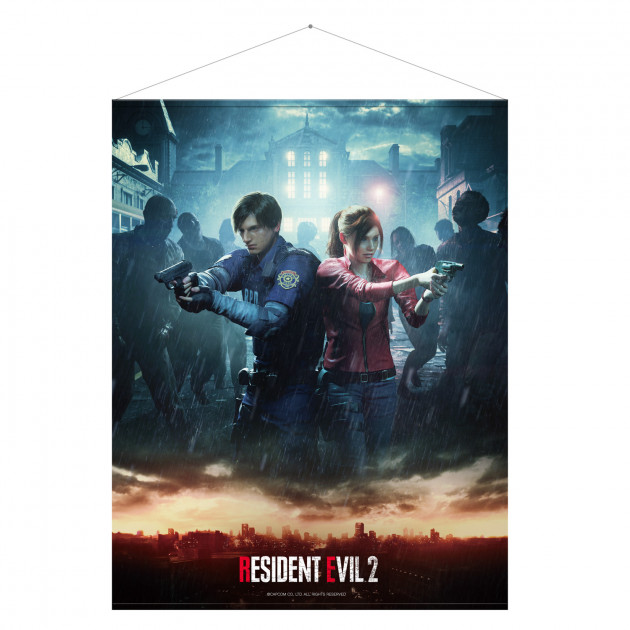 Wallscroll Resident Evil 2 - Leon and Claire