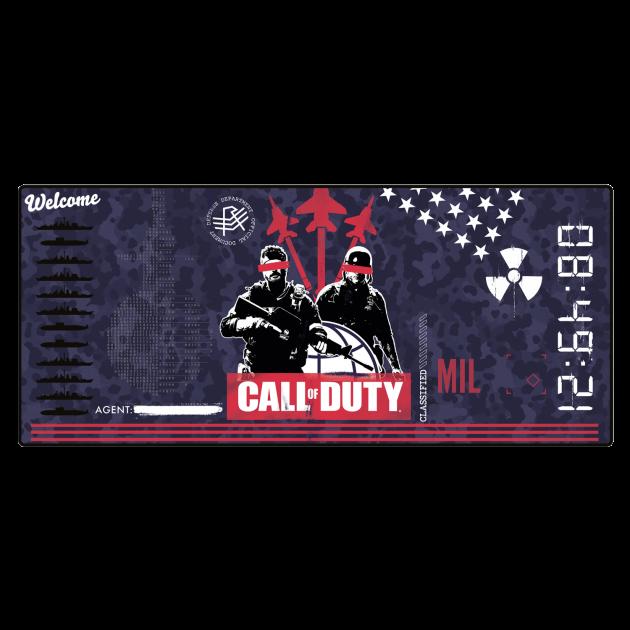 Podložka pod myš Call of Duty: Black Ops Cold War - Propaganda