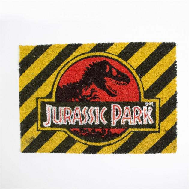 Rohožka Jurassic Park - Warning