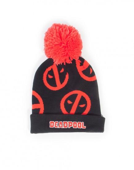 Čepice se šálou Deadpool - Symbol