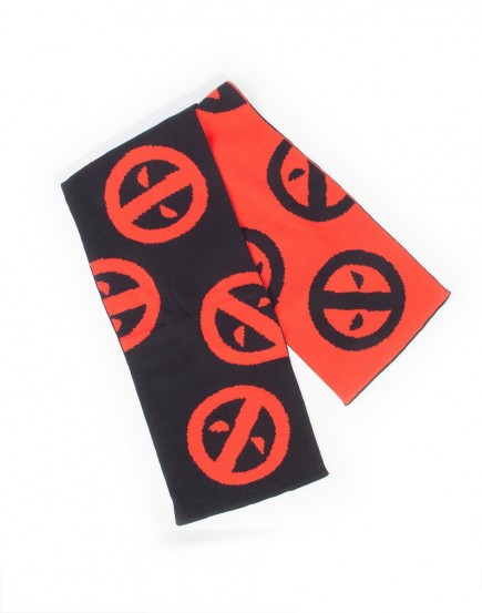 DEADPOOL - SYMBOL BEANIE and SCARF GIFT SET