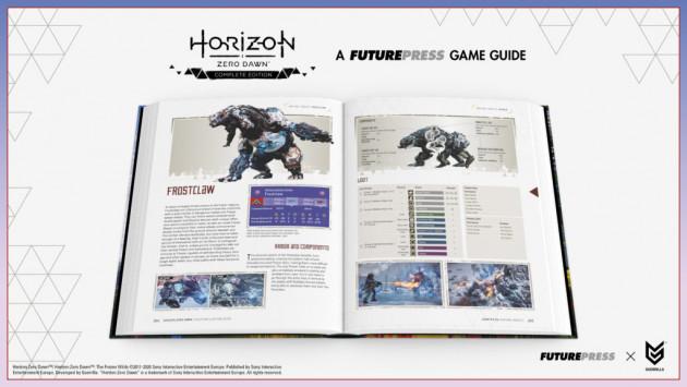 Oficiální průvodce Horizon: Zero Dawn - The Complete Edition
