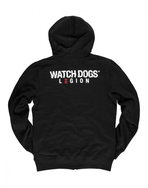 Mikina Watch Dogs: Legion - Logo (velikost XL)