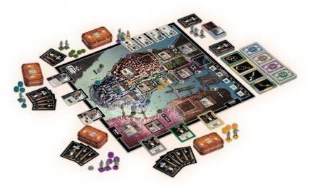 Desková hra Kmotr: Impérium Corleonů