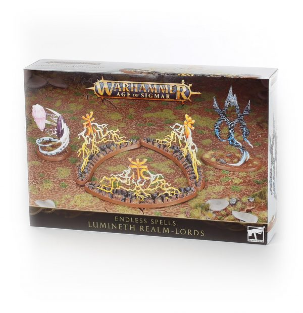 W-AOS: Lumineth Realm Lords Endless Spells (3 figurky)
