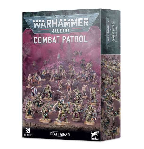 W40k: Death Guard: Combat Patrol (39 figurek)