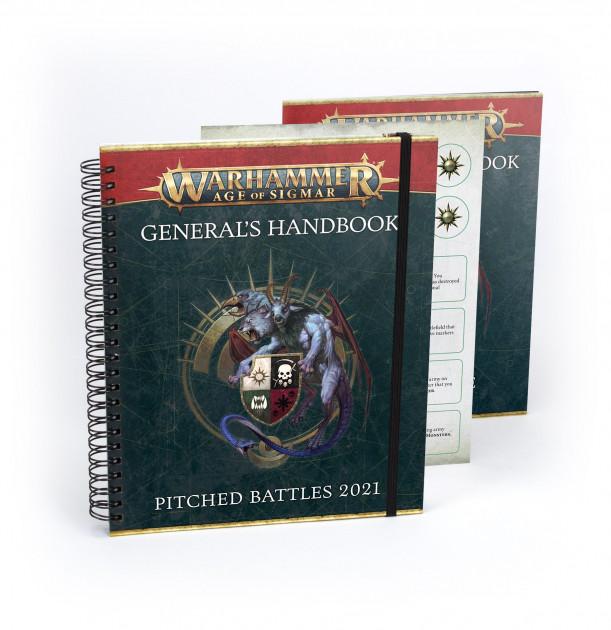 Kniha Warhammer Age of Sigmar - Generals Handbook - Pitched Battles 2021