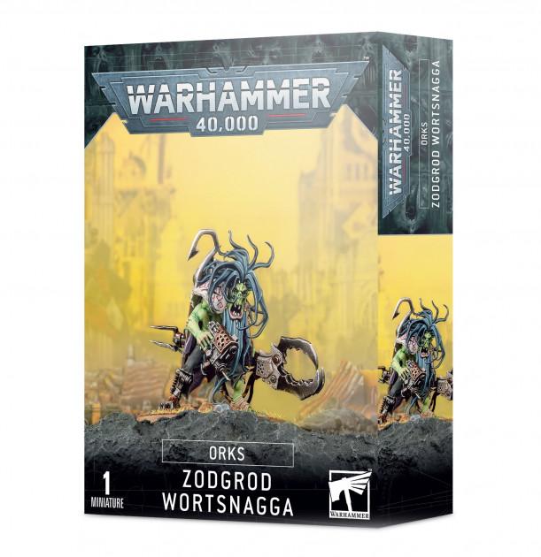 W40k: Orks - Zodgrod Wortsnagga (1 figurka)