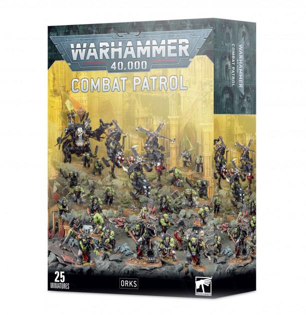 W40k: Orks - Combat Patrol (25 figurek)