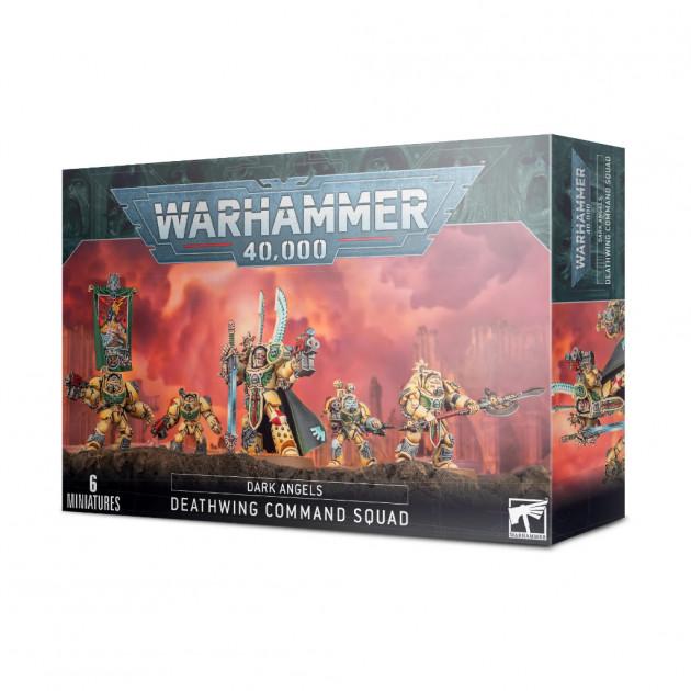 W40k: Dark Angels: Deathwing Command Squad (6 figurek)