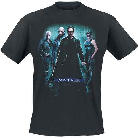 Tričko Matrix - Group Poster (velikost XL)