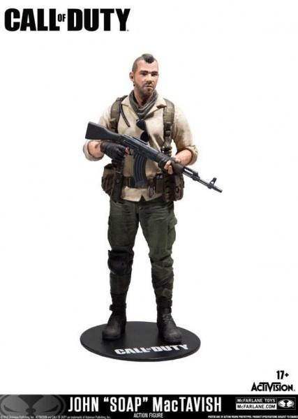 Figurka Call of Duty - John Soap MacTavish