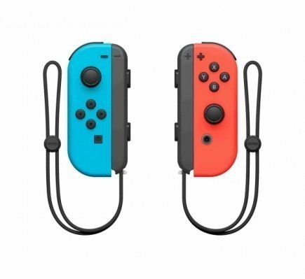 Ovladače Joy-Con - Neon Red/Neon Blue [BAZAR]