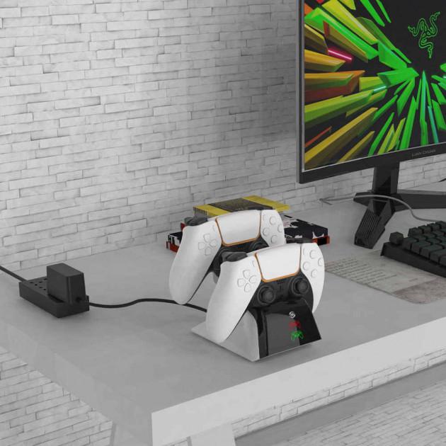 Nabíjecí stanice pro ovladač DualSense (JYS)