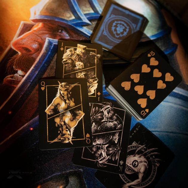 Hrací karty World of Warcraft - Alliance