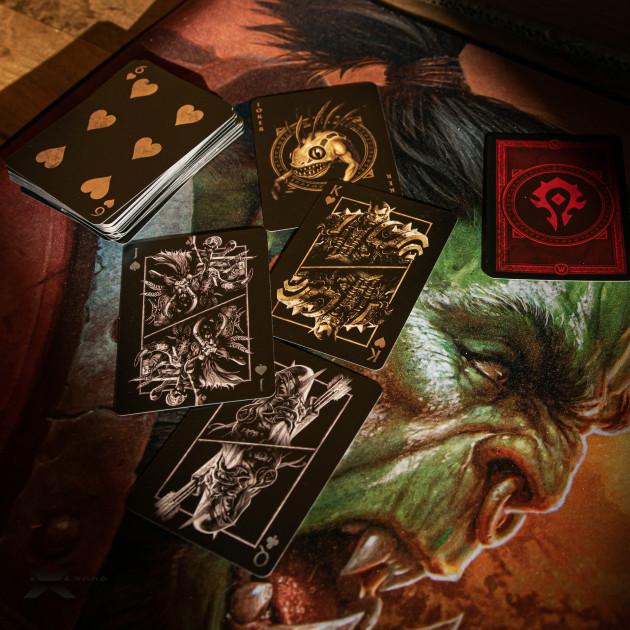 Hrací karty World of Warcraft - Horde
