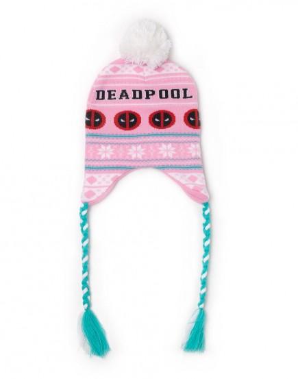 Čepice Deadpool - Pink Laplander