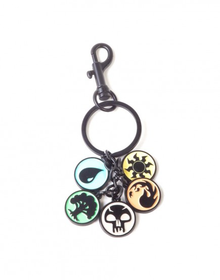 MAGIC - KEYCHAIN WITH METAL CHARMS