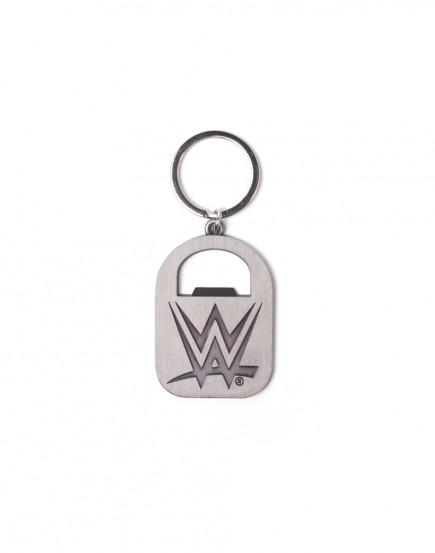 Klíčenka WWE - Logo s otvírákem