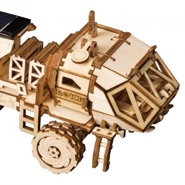 Stavebnice - solární vozítko Navitas Rover LS504 (dřevěná)