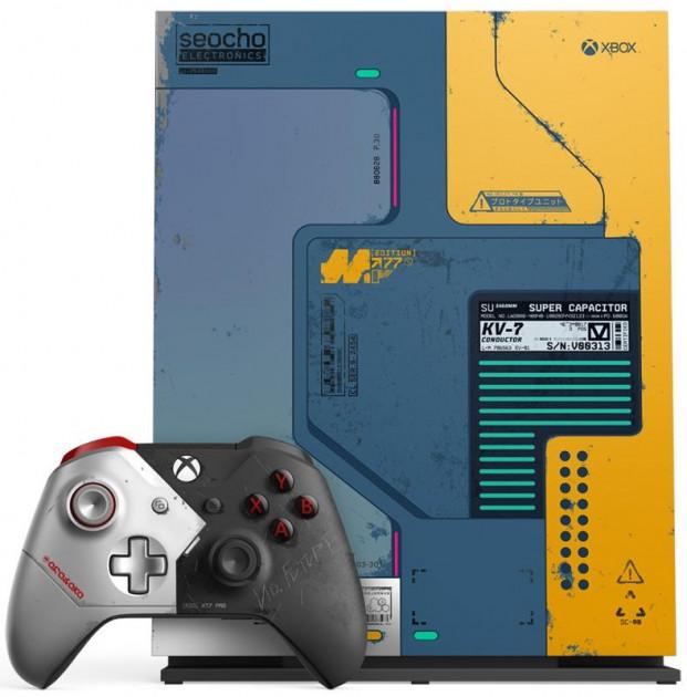 Konzole Xbox One X 1TB Cyberpunk 2077 Limited Edition