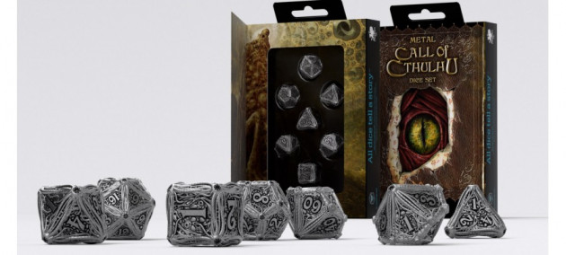 Kostky Call of Cthulhu - Metal Set (kovové)