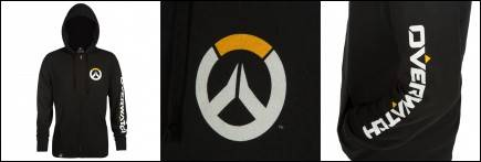 Mikina Overwatch - Logo (americká vel. XL / evropská XXL)