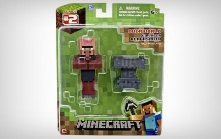 Figurka Minecraft Overworld - Villager tmavý