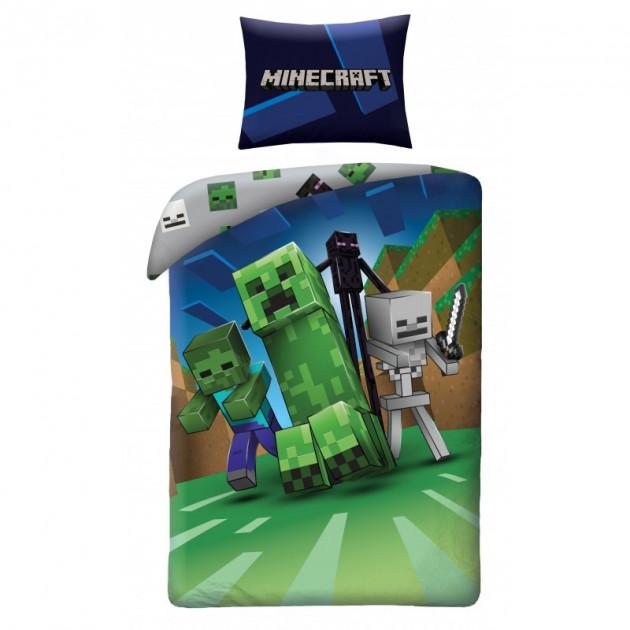 Povlečení Minecraft - Monsters