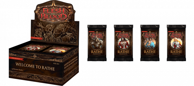 Karetní hra Flesh and Blood TCG: Welcome to Rathe - Unlimited Booster Box (24 boosterů)