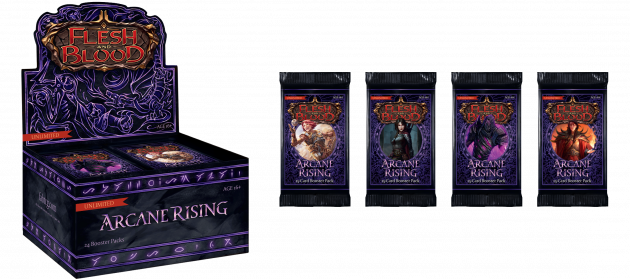 Karetní hra Flesh and Blood TCG: Arcane Rising - Unlimited Booster