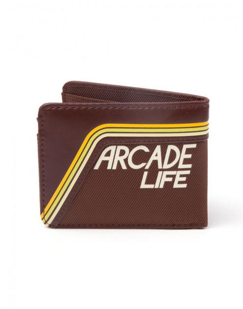 Atari - Brown Arcade Life Wallet