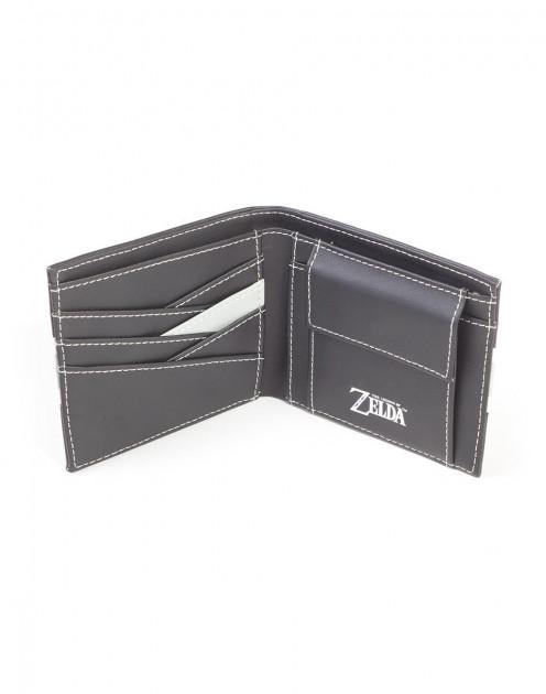 Nintendo - Zelda Black and White Men's Bifold Wallet