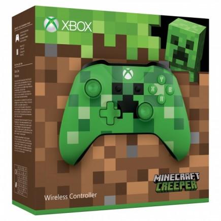 Xbox One ovladač - Minecraft Creeper