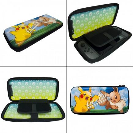 Pevný obal pro Nintendo Switch - Pikachu/Eevee