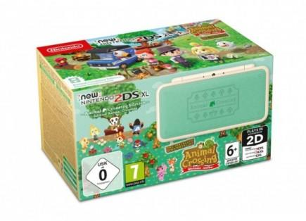 Konzole New Nintendo 2DS XL Animal Crossing Limited Edition + AC New Leaf