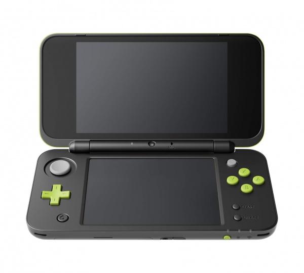 Konzole New Nintendo 2DS XL Black & Lime + Mario Kart 7