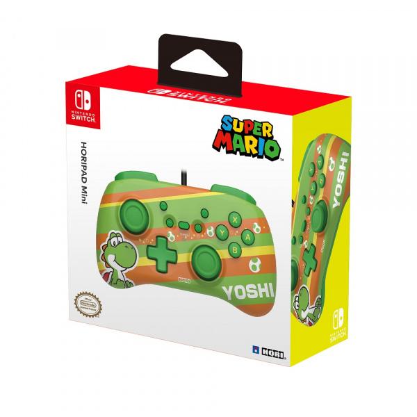 Ovladač Horipad Mini - Yoshi (Super Mario Series)