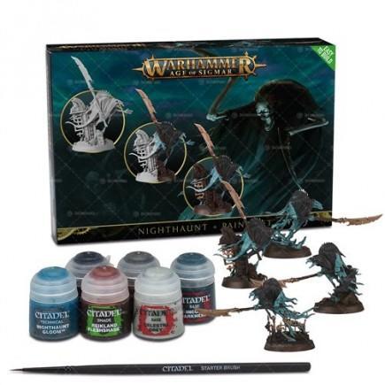 Warhammer: Age of Sigmar - Nighthaunt + Paint Set
